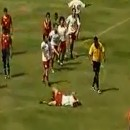 Soccer Ref Nearly Causes Riot!